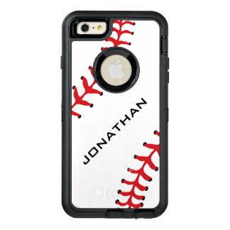 Baseball Design Otter Box OtterBox Defender iPhone Case