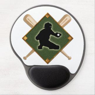 Baseball Diamond Catcher 1 Gel Mouse Pad
