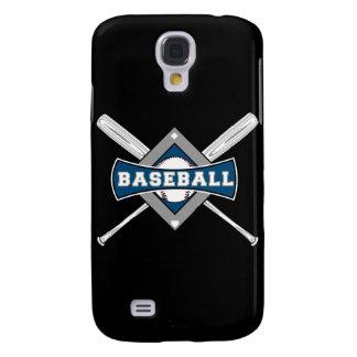 baseball diamond logo gray blue white