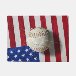 Baseball Doormat