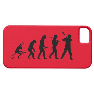 Baseball Evolution - Funny iPhone 5 Case