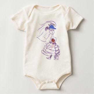Baseball Fan Bride Baby Bodysuit