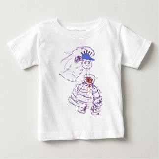 Baseball Fan Bride Baby T-Shirt