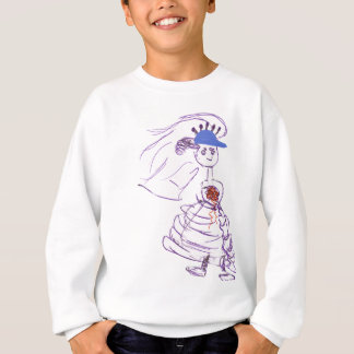 Baseball Fan Bride Sweatshirt