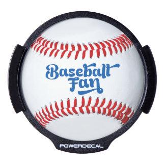 Baseball Fan Gift Idea LED Light Up Decal LED Auto Decal