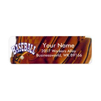 Baseball Fan Return Address