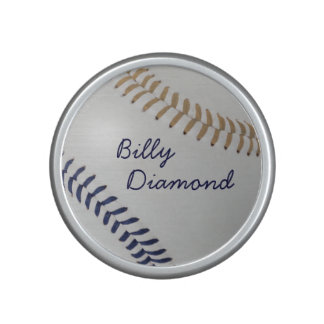 Baseball Fan-tastic_color Laces_db_sd_personalized Bluetooth Speaker