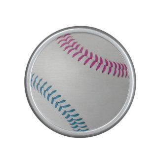 Baseball Fan-tastic_Color Laces_fu_tl Bluetooth Speaker