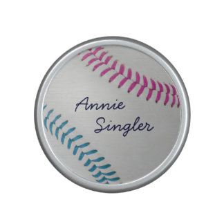 Baseball Fan-tastic_color Laces_fu_tl_personalized Bluetooth Speaker