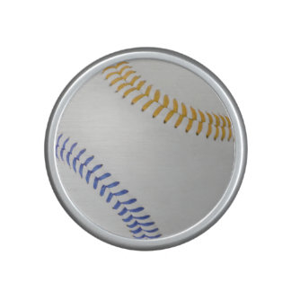 Baseball Fan-tastic_Color Laces_go_bl Bluetooth Speaker
