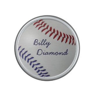 Baseball Fan-tastic_color Laces_nb_dr_personalized Speaker