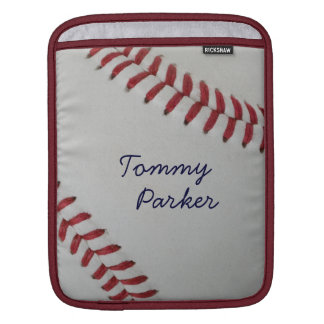 Baseball Fan-tastic_Pitch Perfect autograph style iPad Sleeve