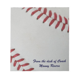Baseball Fan-tastic_pitch perfect_personalized Notepad
