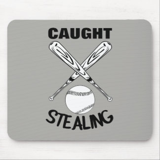 Baseball Fans Funny Humor Quote  Baseball Graphic Mouse Pad