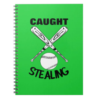 Baseball Fans Funny Humor Quote  Baseball Graphic Notebook