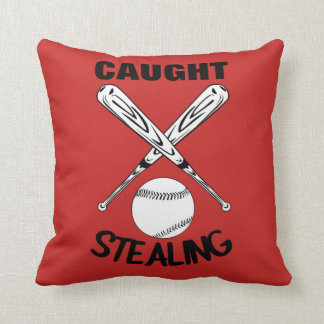 Baseball Fans Funny Humor Quote  Baseball Graphic Throw Pillow