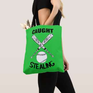 Baseball Fans Funny Humor Quote  Baseball Graphic Tote Bag