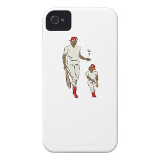 Baseball Father And Son Case-Mate iPhone 4 Case