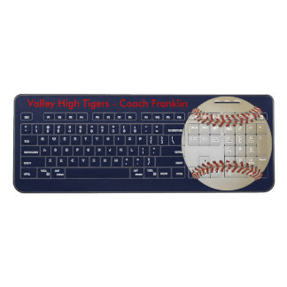 Baseball Fever Wireless Keyboard