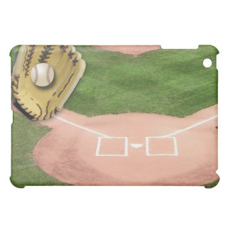 Baseball Field, Glove, & Ball iPad Case