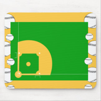 Baseball Field Mouse Pad