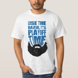 Baseball Football Hockey Playoff Beard T Shirt