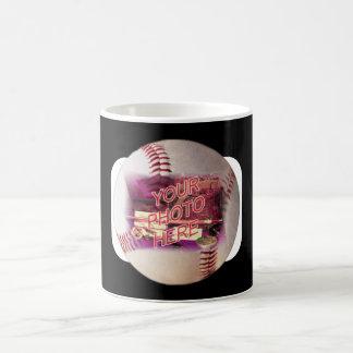 Baseball Frame Coffee Mugs