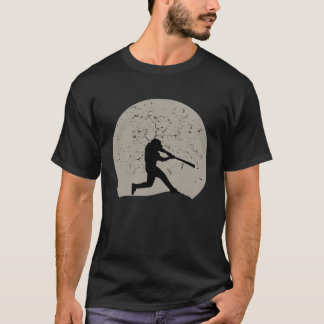 Baseball Full Moon T-Shirt