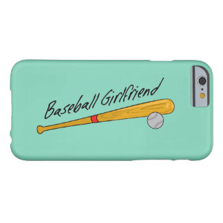 Baseball Girlfriend - iPhone Case Barely There iPhone 6 Case