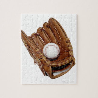Baseball Glove and Ball Jigsaw Puzzle