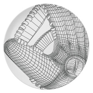 baseball glove plate
