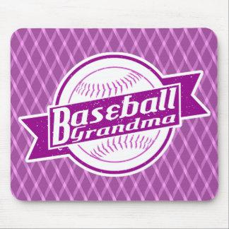Baseball Grandma Mousemat Mouse Pad