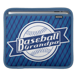 Baseball Grandpa iPad Sleeve