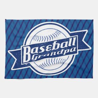 Baseball Grandpa Tea Towel