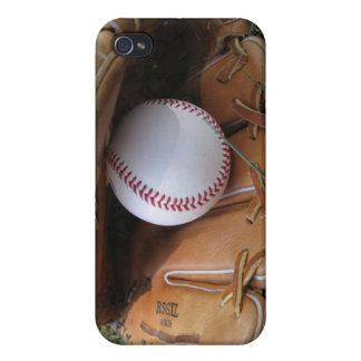Baseball Hard Shell Case for iPhone 4