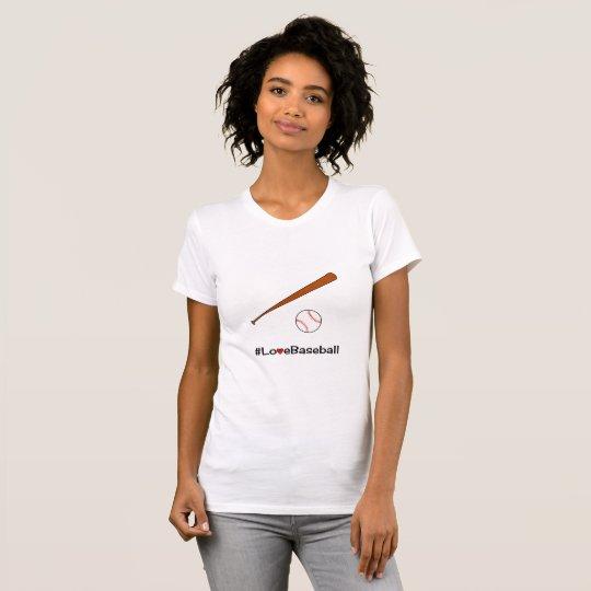 Baseball hashtag slogan T-Shirt