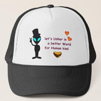 Baseball Hat - Alien Peace Call