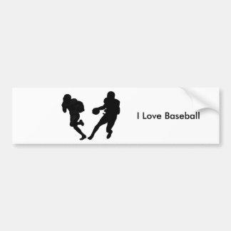 Baseball image for Bumper Sticker