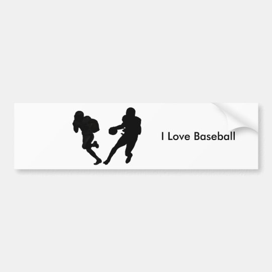 Baseball image for Bumper Sticker