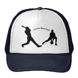 Baseball image for Trucker Hat