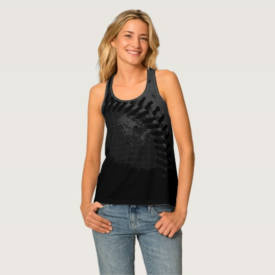 Baseball Impression Tank Top