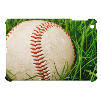 Baseball in the Tall Summer Grass iPad Mini Cover