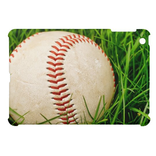 Baseball in the Tall Summer Grass iPad Mini Cover