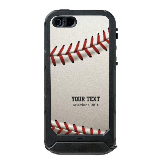 Baseball Incipio ATLAS ID™ iPhone 5 Case