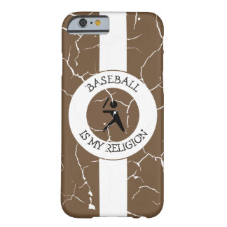 BASEBALL IS MY RELIGION BARELY THERE iPhone 6 CASE