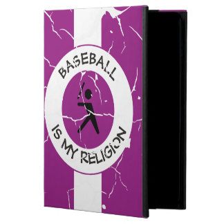 BASEBALL IS MY RELIGION COVER FOR iPad AIR