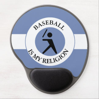 BASEBALL ISMY RELIGION GEL MOUSE PAD