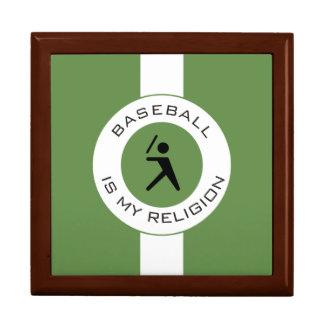 BASEBALL ISMY RELIGION GIFT BOX