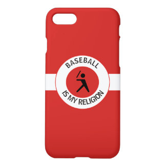 BASEBALL IS MY RELIGION iPhone 8/7 CASE