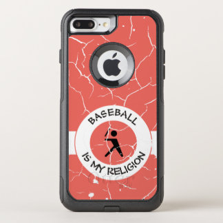 BASEBALL IS MY RELIGION OtterBox COMMUTER iPhone 8 PLUS/7 PLUS CASE